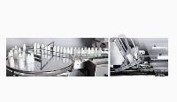 多功能自动理瓶装盒生产线