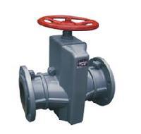 GJ41X-6铸铁管夹阀,手动管夹阀
