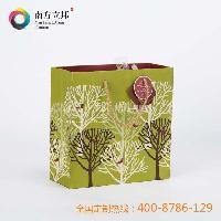 温州 厂家创意定做 2015年 创意树形手提袋 牛皮纸袋