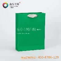 绿色彩卡手提袋 特种纸袋 浙江 知名厂家专属定做