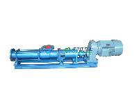 螺杆泵厂家:G型单螺杆泵配调速电机