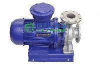 化工泵厂家:ISWH防爆化工管道泵 卧式化工泵