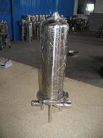 厂家批发 不锈钢立式3芯20寸精密过滤器 加压过滤设备