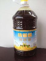 味香阁四级菜籽油 5L/桶 4桶/箱