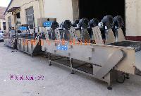 HB-520果蔬清洗风干流水线设备