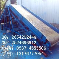 爬坡输送带  移动式粮食装车输送机