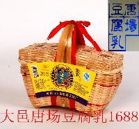 唐桥豆腐乳500g竹笼装