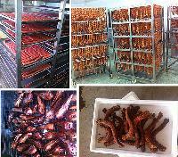 厂家直销优质750型烤肉烟熏炉