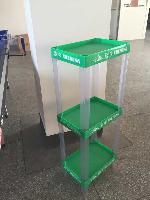 宏远专业生产定制多款超市塑料促销货架,饮料展架