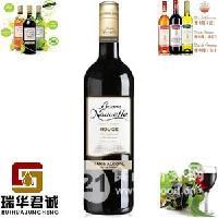 法国BONNE伯尼努瓦勒无酒精干红葡萄酒