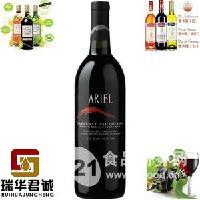 ARIEL爱丽尔无醇赤霞珠干红葡萄酒