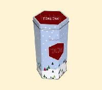八角礼品铁盒,礼品包装铁罐,马口铁礼品盒
