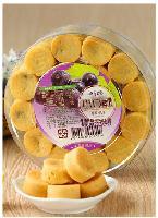 台湾进口茶点零食四季之恋葡萄小口酥小凤酥一口酥500g