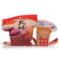 云南特产宣威歆之坊火腿500g肥瘦真空包装火腿