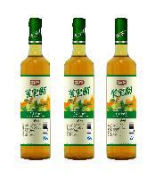 苹果醋健康饮料饮品650ml*12玻璃瓶装