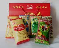 天钙精品杂粮6袋礼盒装河南五谷粗粮特产高钙小米