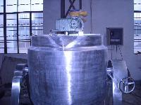 导热油加热刮壁式搅拌反应锅