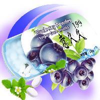 精美铁盒 蓝莓果汁粉维生素木糖醇口香糖16g