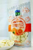比然甜橙奶贝 250克奶片 水果味补钙奶食品