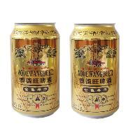青岛澳德旺金色年华12°啤酒330ml24听易拉罐爆款