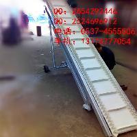 可移动爬坡输送机 槽型散料输送机