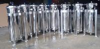 厂家生产供应不锈钢袋式过滤器,抱箍式平底袋式过滤器