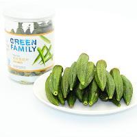 褀神黄秋葵干水果果蔬脆片罐装密封即食绿色办公休闲