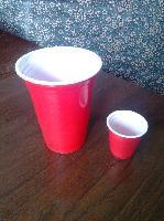 一次性环保PS60ml双色塑料小酒杯