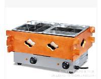 供应直销电热关东煮 双盆18格关东煮机器 小吃专用