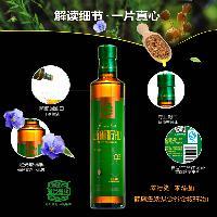 金谷金牧亚麻籽油500ml瓶装
