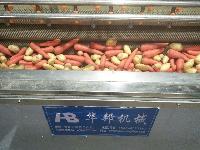 304华邦供应HB-1000高压毛辊喷淋清洗机 甘蔗清洗机