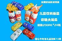 爱心牛儿童饮料代理 熊仔大玩具奶 规格200ML*24瓶