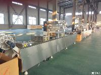 厂家直供小康牌DLZ-520E型全自动连续拉伸膜真空包装机
