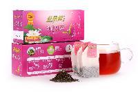 茶丽健  花草茶  红茶荷叶袋泡茶简易茶包40g
