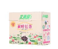 茶丽健 花草茶 荷叶红茶三角茶包50g