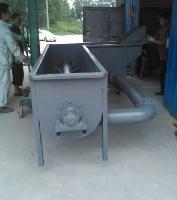 太原烫鸡使用的弯式津烫池,全自动津烫池