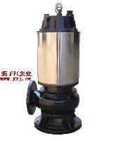 排污泵:JYWQ型不锈钢自动搅匀潜水排污泵 自动搅拌排污泵