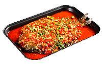 新雅轩 D123 剁椒风味烤鱼酱 万州烤鱼新品 剁椒风味浓郁