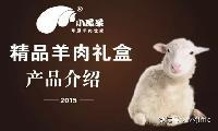 内蒙古小尾羊精致羊肉礼盒3kg臻羔肉卷