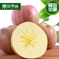 新疆阿克苏冰糖心苹果新鲜水果