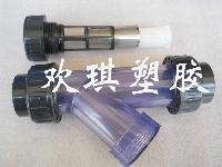 塑料Y法兰过滤器-GL61F-10S高效塑料Y型过滤器