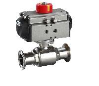 卫生级气动快装球阀WQ681W-16P