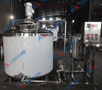 蒸汽加热牛奶巴氏杀菌机设备