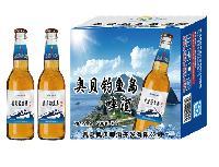 500毫升青岛奥贝钓鱼岛啤酒代理
