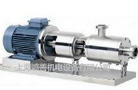 三级管线式乳化泵