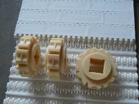 喷淋杀菌塑料网带链