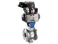 VQ647气动V型调节球阀