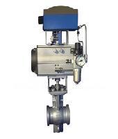 气动V型调节球阀ZSHV