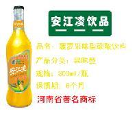 菠萝味碳酸饮料