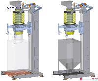 建材粉料自动称重包装机 干粉砂浆吨袋包装机厂家
